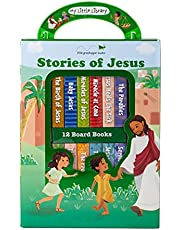 My Little Library: Stories of Jesus (12 Board Books)