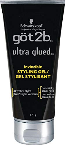 Got2b Ultra Glued Invincible Styling Hair Gel, 6 Ounce 1