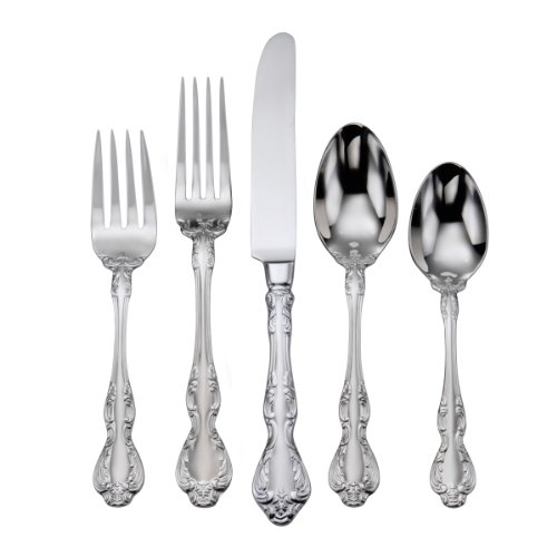 Fine Stainless Flatware Place (Oneida Mandolina 65-Piece Flatware Set, Service for 12)