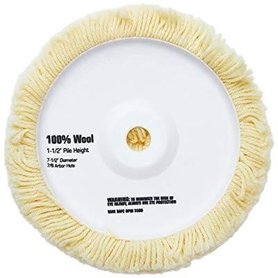 DEWALT DW4988 7-1/2-Inch Wool Polishing Pad 1-1/2-Inch Pile: Home Improvement