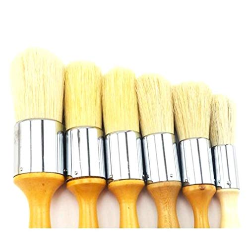 Bristle Paint Oil Brushes Watercolor Large Area Art for Drawing Pen Supplies