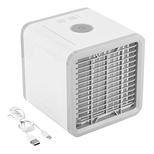 Save Power Desktop Air Cooler Portable Personal Air Conditioner Arctic Air Personal Space Cooler Easy Way to Cool Home Office Desk by Aramox (Image #4)