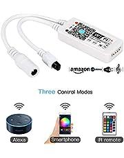 Manba Control remoto inalámbrico para tira de luz LED, RVA, WiFi, Android, IOS, teléfono inteligente, aplicación de control de voz Alexa
