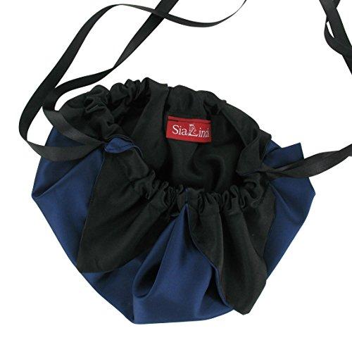 SiaLinda, Borsetta da polso donna Blu Blu (DunkelBlu)