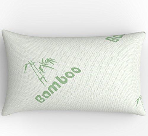 Tebery Luxury Shredded Memory Foam Bamboo Pillow - Hotel Qua