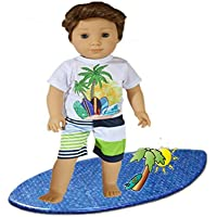 Brittany's My Boys Swimsuit and Tee for American Girl Boy Dolls