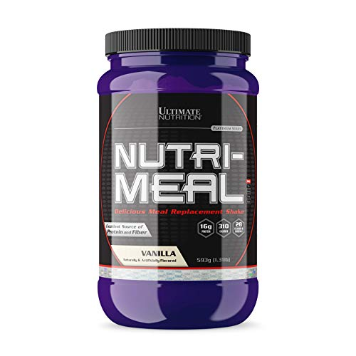 (Ultimate Nutrition NutriMeal Meal Replacement Protein Shake Complete with Vitamins, Minerals and BCAAs (Vanilla))