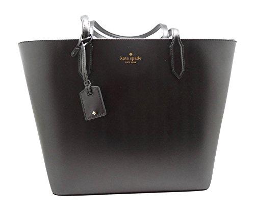 Kate Spade Lucia Bell Street Top Zip Shoulder Tote Bag Black by Kate Spade New York (Image #7)
