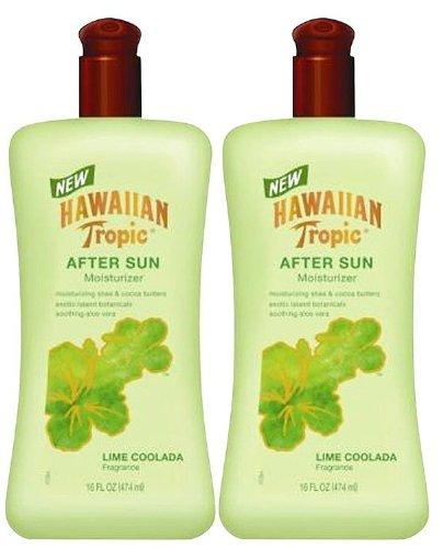 Hawaiian Tropic Lime Coolada After Sun Moisturizer-16 oz, 2 pack