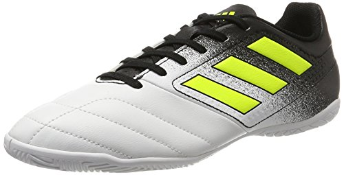 White adidas Footwear BLACK1 in Ace Blanc Homme Black BLACK1 4 Chaussures Yellow 17 Solar Futsal de Wht Core BOBq4r7