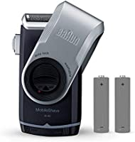 Braun MobileShave M-90 - Afeitadora eléctrica rotativa para hombre ...
