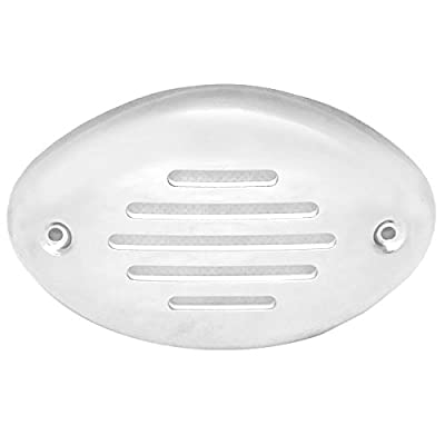 Assy, Wht Grill/ss Cover Oem For Drop In Horns Pack
