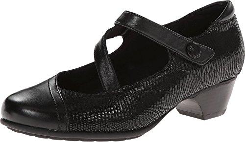 Aravon Women's Portia - AR Dress Pump,Black Multi,7 B US