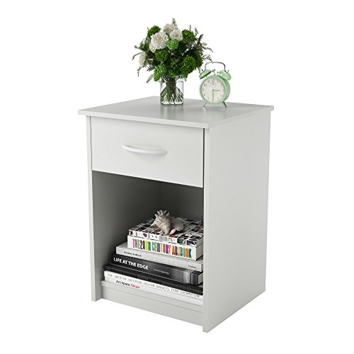 Ameriwood Home  Core Nightstand, White by Ameriwood Home (Image #1)