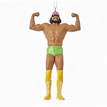 Amazon.com: Kurt Adler 5-Inch Resin WWE Macho Man Randy Savage ...