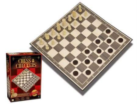 Merchant Ambassador Classic Games Checkers by Merchant Ambassador