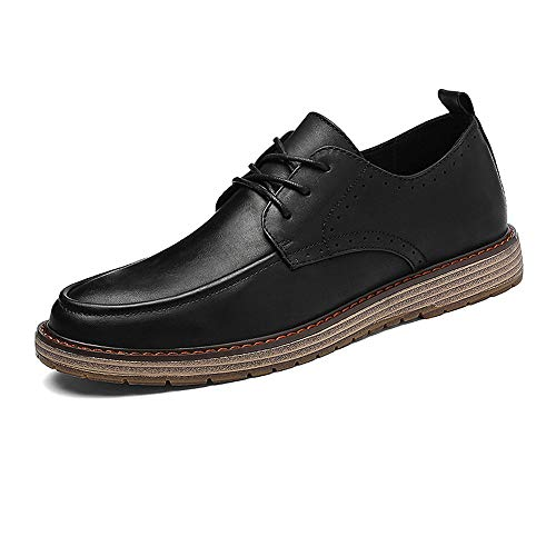 Contratto formali Business 39 shoes Uomo Xiaojuan Cachi Scarpe casual Color Oxford EU Vintage British Dimensione Scarpe Style Pelle New Uomo Fashion Nero Seiko wxXwOqp