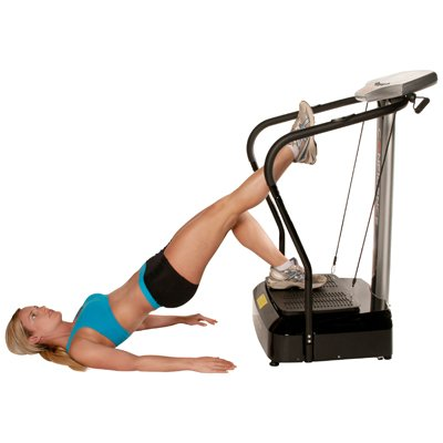 Confidence Fitness Slim Full Body Vibration Platform Fitness Machine, Black by Confidence (Image #5)