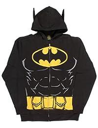 Batman Hooded Caped Belt Costume Hoodie