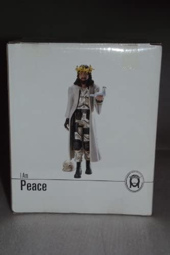Jesus Action Figure Military Outfit I am Peace
