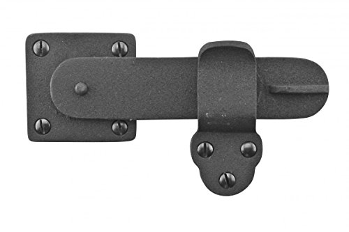 Gate Latch Black Wrought Iron 5 3/4
