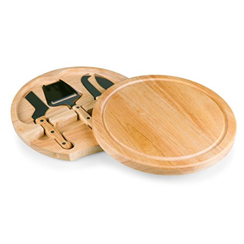 TOSCANA - a Picnic Time Brand Circo Cheese Board with Cheese Tools ()