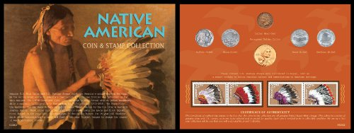 American Coin Treasures Native American West Coin and Stamp Collection