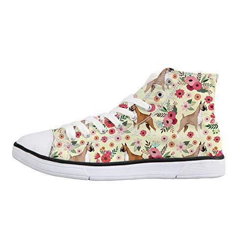 Flower Stivaletto Boxer Donna Coloranimal Pantofole a gq7CTXxwE