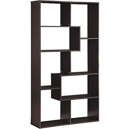 Mainstays Home 8-Shelf Bookcase (Espresso)