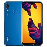 Huawei P20 Lite ANE-LX3 32GB + 4GB Dual SIM LTE Factory Unlocked Smartphone (Klein Blue)