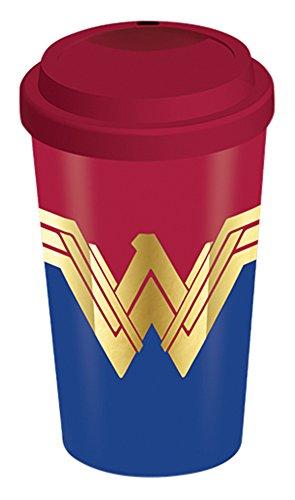 Wonder Woman Emblem Travel Mug