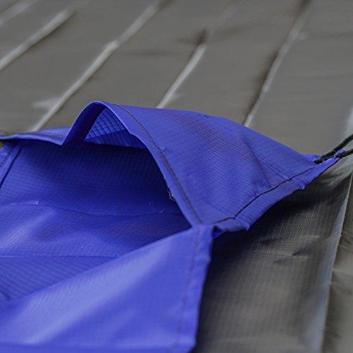 Bramble - wasserdichte Picknickdecke und Stranddecke mit Tasche Blau 1TWCW4Ime