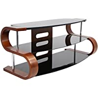 WOYBR TV-SW-TS 120 Bent Wood, Glass, Modern Metro 120