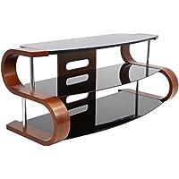 WOYBR TV-SW-TS 120 Bent Wood, Glass, Modern Metro 120