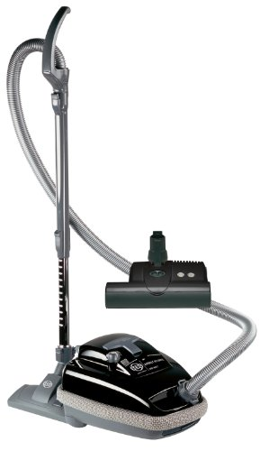 SEBO 9688AM Airbelt K3 Canister Vacuum with ET-1 Powerhead and Parquet Brush, Black - Corded by Sebo