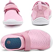 Toddler//Little Kid//Big Kid WALUCAN Girls /& Boys Water Shoes Aqua Shoes Athletic Sneakers Lightweight Sport Shoes U319SSX001