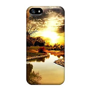 New QmFCdyZ3320TCqLF One Autumn Day Iphone Wallpaper Skin Case Cover Shatterproof Case For Iphone 5/5s