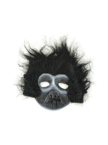 Rubie's Costume Co Unisex-Adults Plush Gorilla Mask, Black, One Size ()