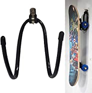 AUXPhome Skateboard Wall Hanger Wall Storage Clip Skateboard Wall Rack Wall Mount - for All Your Skateboard an