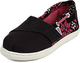 Toms - Tiny Bimini Classic Slip-On Shoes, Size: 4 M US Toddler, Color: Flake Knit