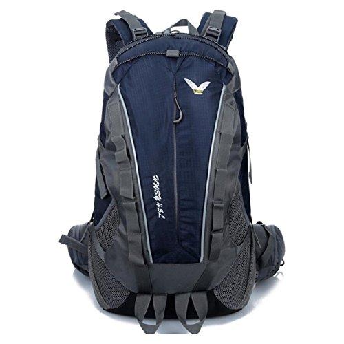 ZC&J Estilo europeo mochila escalada, de alta calidad de nylon impermeable anti-lágrima anti-multi-funcional mochila, los hombres y las mujeres general mochila,G,36-55L A