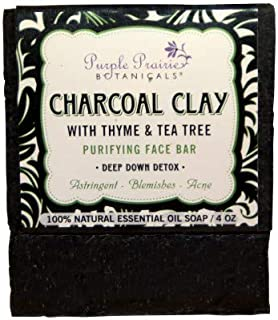 product image for Charcoal Clay Purifying Face Bar