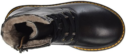 Bisgaard Unisex-Kinder Springerstiefel Combat Boots Schwarz (204 Black)