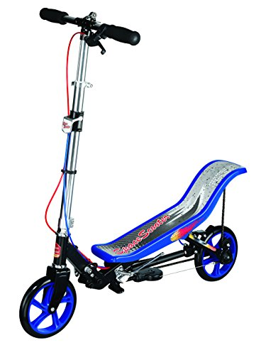 Lowest Prices! SpaceScooter Space Scooter Ride On, Black/Blue Ride On, black
