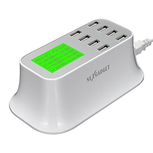 NEXGADGET Family Sized Desktop Charger Charging