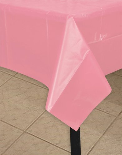 Rhode Island Novelty 54'' x 108'' Light Pink Tablecloth
