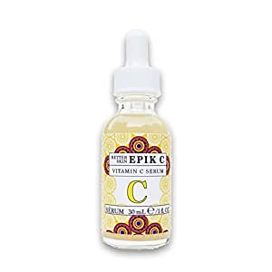 The Better Skin Co. | Epik C - Vitamin C Serum For Anti-Aging, Wrinkles, Age Spots, Acne & More! Assist In Giving Skin The Appearance Of A Brighter, More Youthful Looking Glow