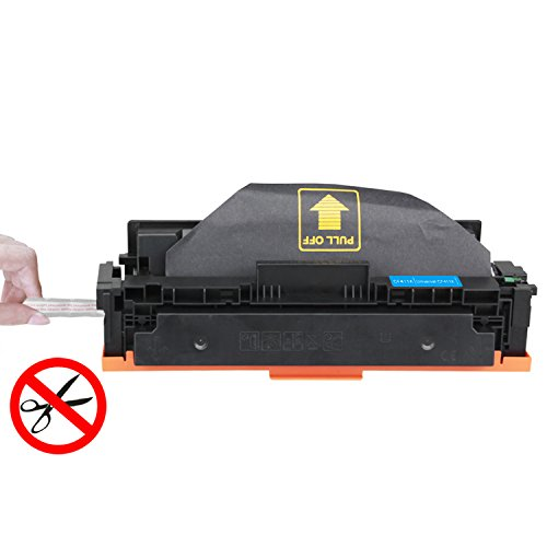 INK E-SALE Compatible HP 410X CF410X Black Toner Cartridge High Yield 6500 Pages for Used in HP Color LaserJet Pro MFP M477fdn M477fdw M477fnw,Pro M452dn M452nw M452dw Printers,1 Pack Photo #2