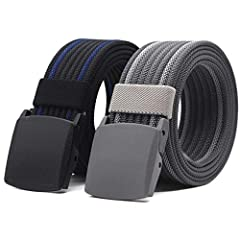 QUALITY:ANDY GRADE leather belt construction offers highest quality and maximum durability, they are durable and everlasting, your leather belt is stiff and uncomfortable? Give us a chance. Our tactical belt is using 100% high quality nylon m...