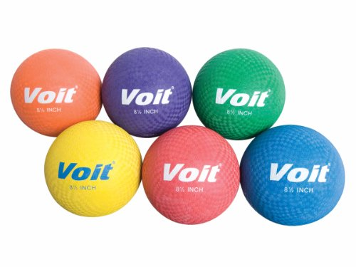 Voit Playground Ball Prism Pack (Assorted Colors)(Pack of 6)